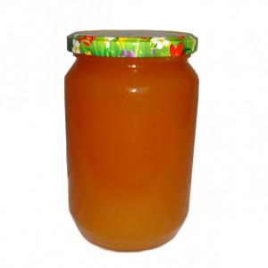 Буркан с мед 1 кг. - Снимка 1